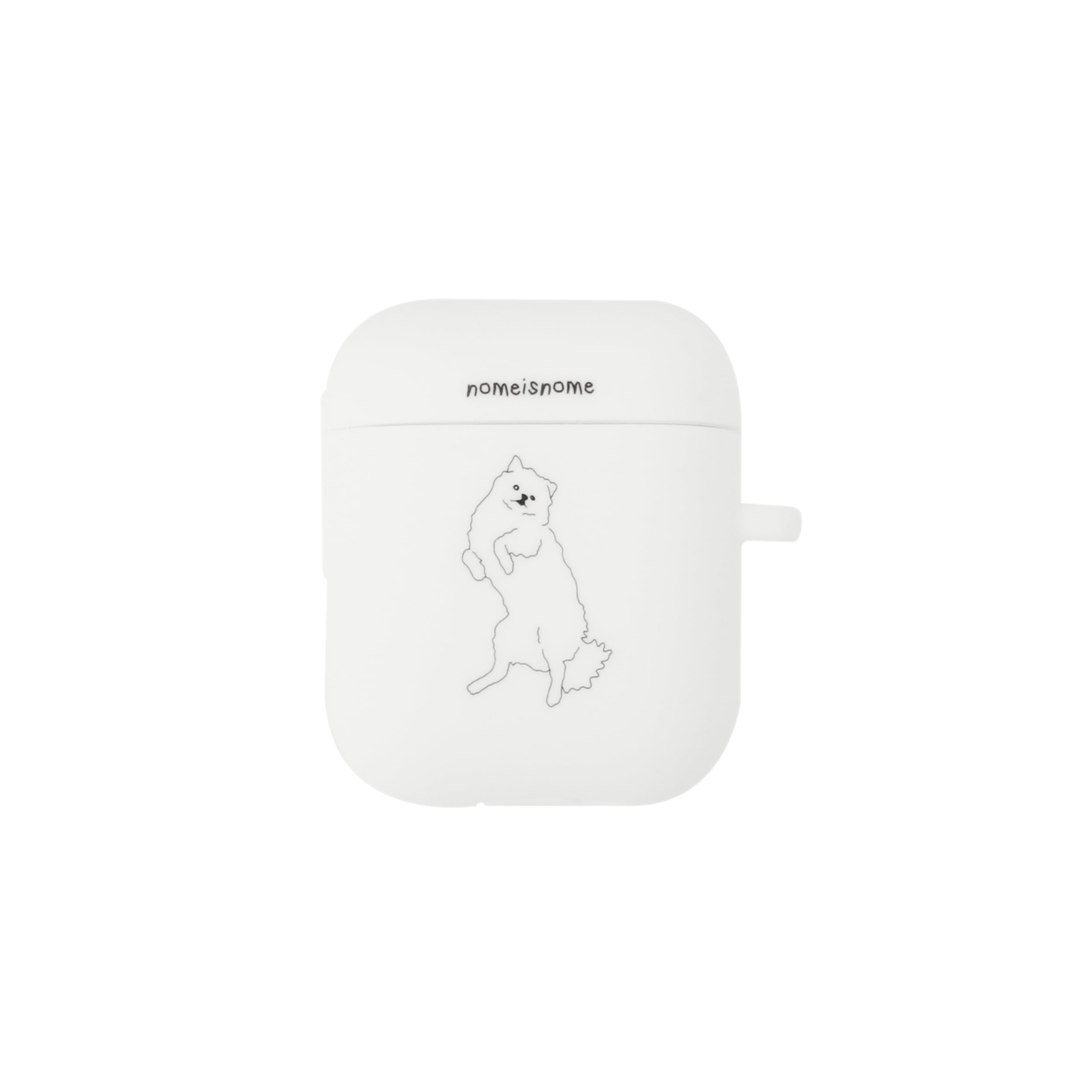 fogbownome white no.1 / airpods case
