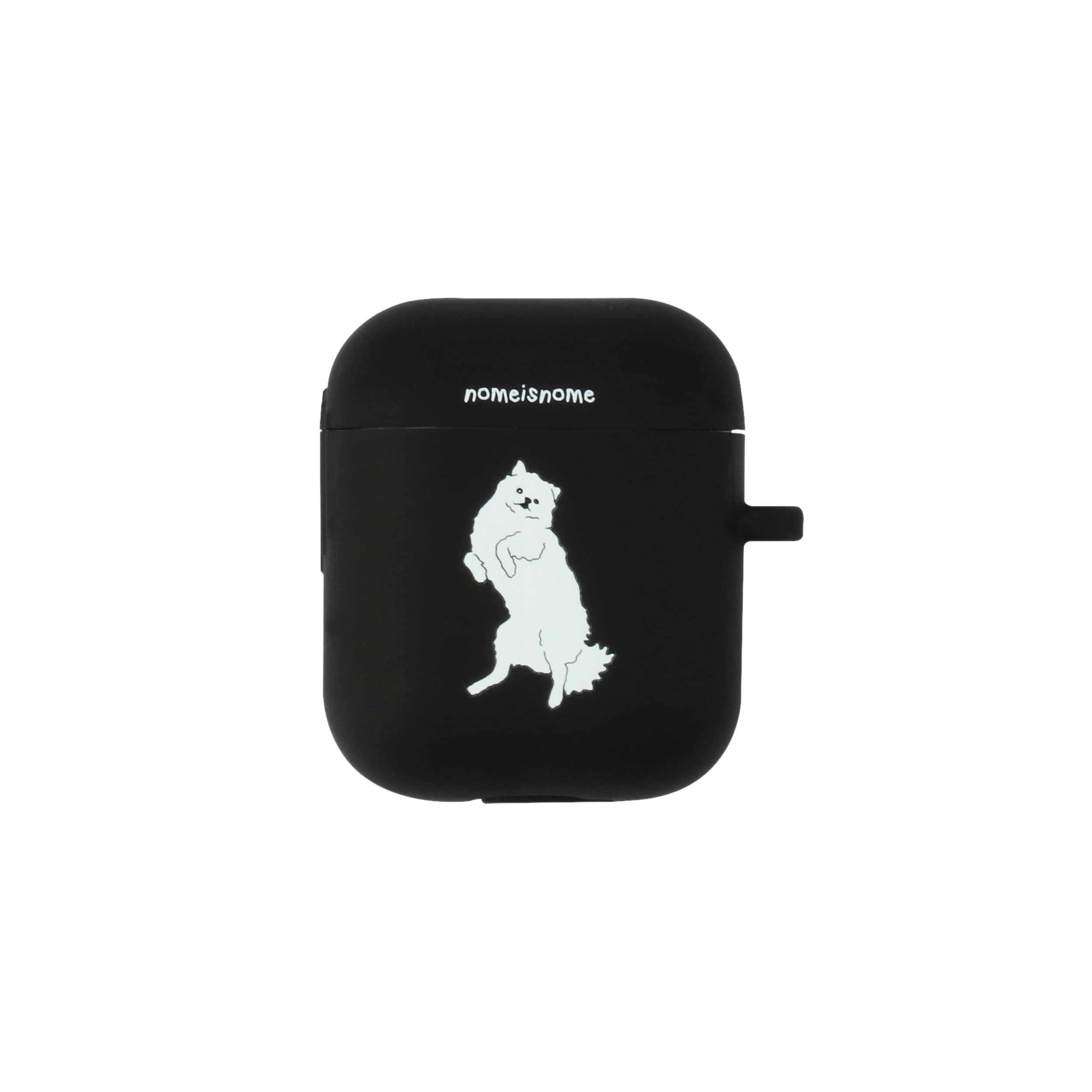 fogbownome black no.1 / airpods case
