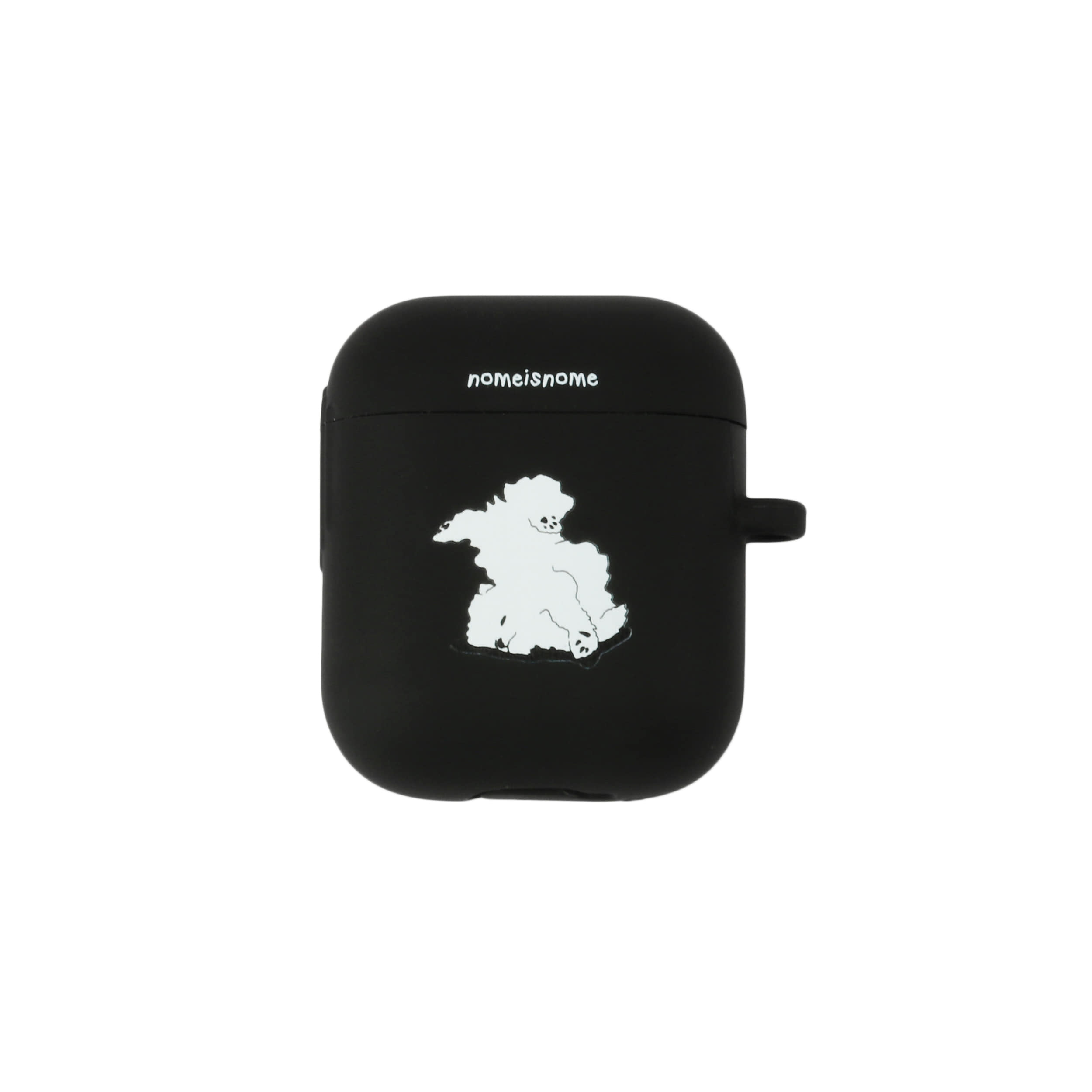 fogbownome black no.2 / airpods case