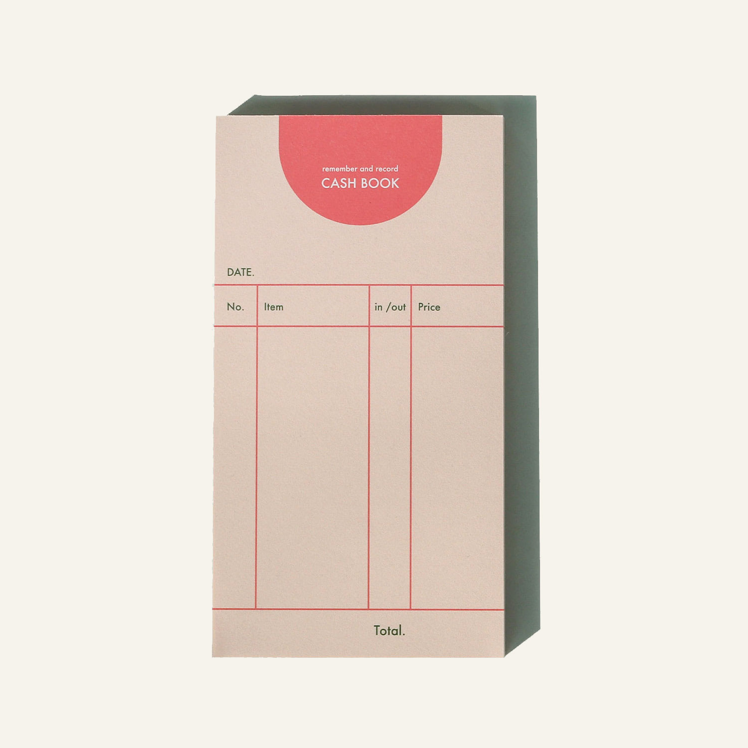 fogbowcash book / pink